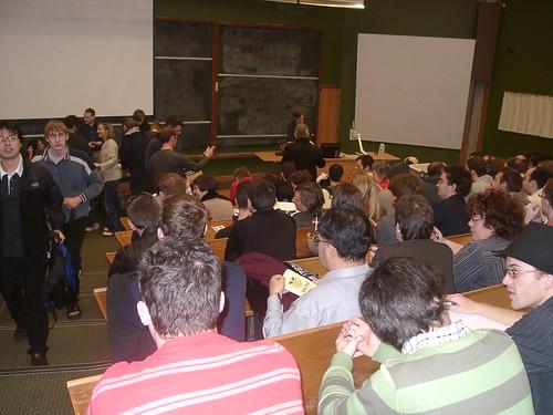 Richard Stallman at the University of Auckland, August 8, 2008