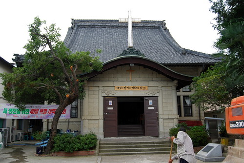 Mokpo Central Church (Formerly Higashi Hongan-ji Temple)