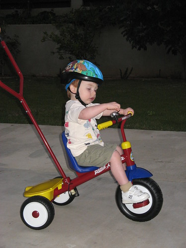 Henry on His Trike