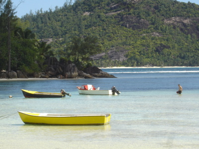 Port Glaud on Mahe (Seychelles)