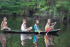 Children on the Rio Negro Amazonas  Brazil (keithhull) Tags: brazil reflection children amazon reflexions soe caboclos rionegro topshot blueribbonwinner otw topshots flickrsbest bej mywinners abigfave worldbest anawesomeshot aplusphoto mycameraneverlies betterthangood theperfectphotographer saariysqualitypictures childrenbestphotos