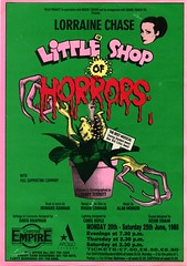 Little Shop of Horrors Flyer (Happysmurfday) Tags: london shop little horrors