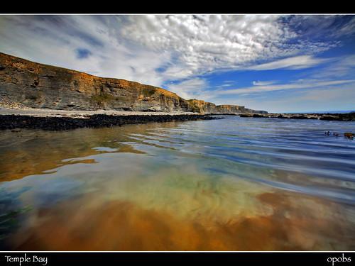 glamorgan heritage coast. Temple Bay, Glamorgan Heritage