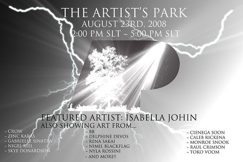 The all new ARTist's Park!