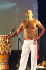 Beefy Drummer (canadianlookin) Tags: brazil heritage winnipeg culture august brazilian pavilion 2008 folklorama
