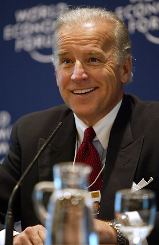 Vice President Joe Biden at the World Economic Forum