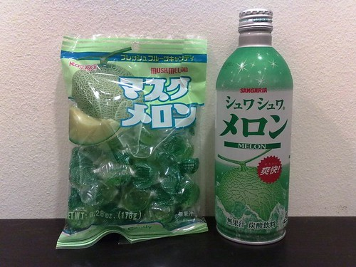 Melon Candy and Melon Soda
