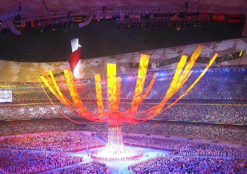 Celebrate the great Beijing 2008 Olympics! by Qiyuan Li.