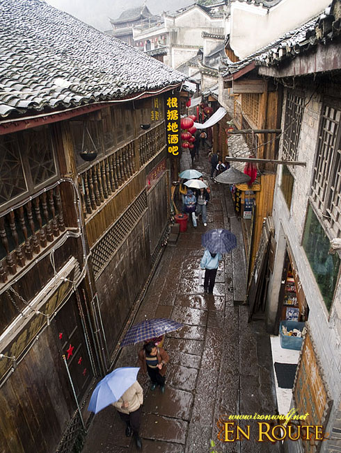 fenghuang Narrow Flagstone Streets