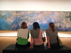Viewing Monet's Water Lilies