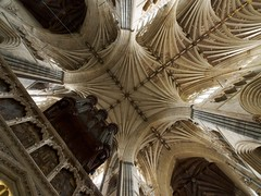Exeter Cathedral: Crossing Vaults (Jon Sketchley) Tags: cathedral organ exeter vault