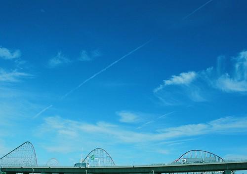 blue,blue,highway