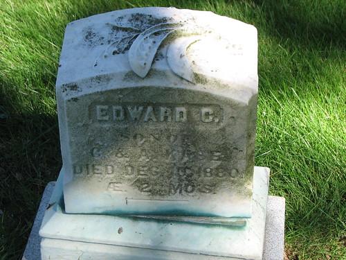 Baby Edward, 2 Months 1880