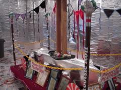Nick Paparone's performance/installation at Vox Populi