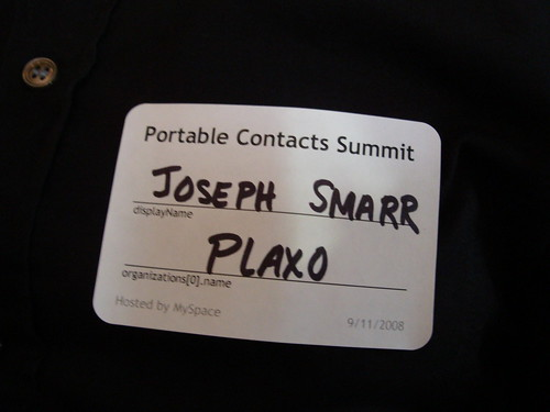 Spec-compliant name tag