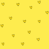 GIF corao amarelo (super_ziper) Tags: yellow tile hearts pattern heart background super amarelo coraes corao gif bg ziper padrao superziper