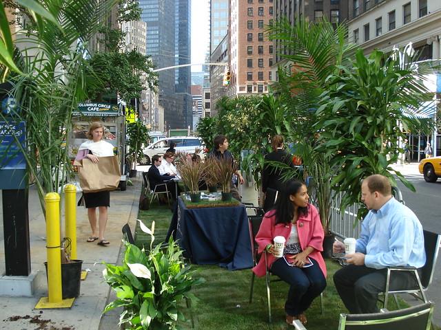 OFFICE PARK(ing) - HR&A Advisors - Park(ing) Day 2008