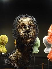 (The valk) Tags: expo victoria museo cabezas artes nacional bellas mnba callejas mondadientes alfileres