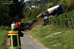 Abgestürzte Erntemaschine Frauenstein 27.09.08