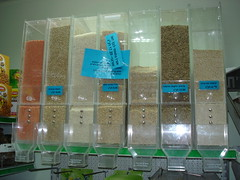 Grains in bulk