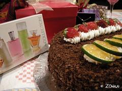 کیک تولد ضحی