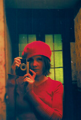 mrcz000007 (mariczka) Tags: camera red portrait selfportrait green film me girl face analog geotagged mirror lomo lomography ishootfilm redhat portraiture fujifilm brightcolors smena smena8m explored 3rdfilm kubrickslook mariczka vintageanalogue meandsmena