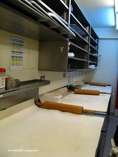misterdonut廚房麵糰工作台