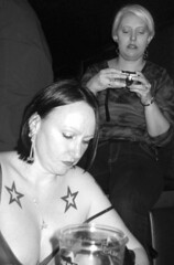 stars and bars (annette62) Tags: stars photography edinburgh gig tattoos mel cameras shirley cleavage chimping liquidrooms slf