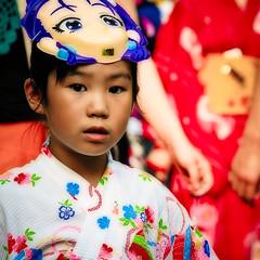 Unmasked (manganite) Tags: people color girl fashion japan kids digital children square geotagged asian japanese tokyo kid nikon colorful asia child mask tl traditional young festivals yukata d200 nikkor dslr shinto shrines mitamamatsuri effect japanesegirls matsuri orton treatment yasukunijinja 18200mmf3556 manganite nikonstunninggallery geo:lat=35694441 date:year=2006 geo:lon=139744729 date:month=july date:day=15 format:orientation=square format:ratio=11