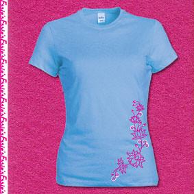 Lotus t-shirt Turquoise