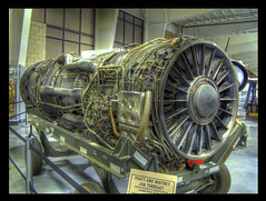 The Mighty J-58 HDR (sumoetx) Tags: museum photoshop canon utah power military hill engine motor airforce hdr sr71 mach supersonic photomatix hdrtechnology chdk a720is