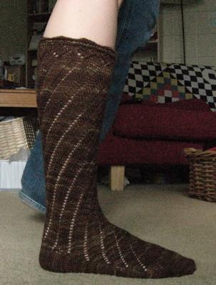 Spiral Boot Sock