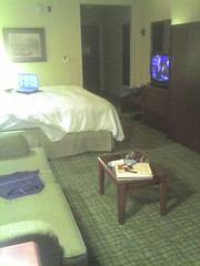 Business Trip, my hotel room