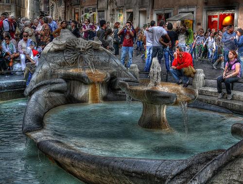 Roma - Piazza di Spagna
