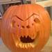 My first carved halloween pumpkin!