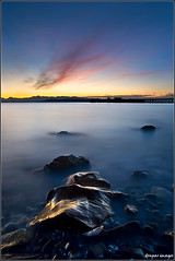 I. W A V E R .I (donpar) Tags: seattle park lighting wood light sunset sky sun mountains reflection beach water colors rock marina canon lights pier washington movement dock log sand gate rocks warm long exposure waves glow pacific northwest shoreline sunsets sparkle shore shade wait lamps setting encore edmonds waver revisited immersed donpar alemdagqualityonlyclub donparimages