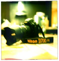My Toy :) (Fahad Nasir -I'm Back- :D) Tags: camera film polaroid sx70 nikon 600 land sonar nikkor fx 2470mm aplusphoto d700