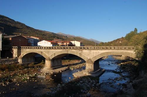 Ruta rural en el Jerte