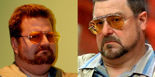 me as walter vs. john goodman as walter