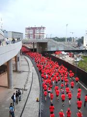 The Human Race (RLSi) Tags: red people london race runners humans wembley wembleystadium thehumanrace blueribbonwinner pfogold herowinner