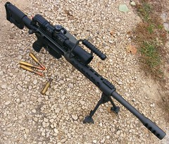 UltraMag 50 BMG Rifle (weaponeer) Tags: rifle cannon 50 browning assaultrifle 50caliber ultramag