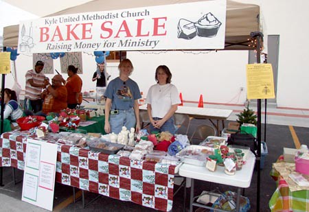 Kyle United Methodist Church Bake Sale