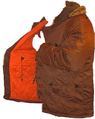 1980's parka (Brown) (Clothes Mountain) Tags: saved from blue school winter orange mountain snow green fur found snorkel michigan coat navy nike retro collection equipment jacket trespass jelly hood collectors adidas 1980s hansen item zip nylon parker rescued landfill parka reebok karrimor lined ykk umbro kickers