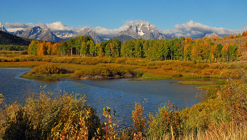 Fall at Oxbow Bend, Grand Teton National Park - 1079b
