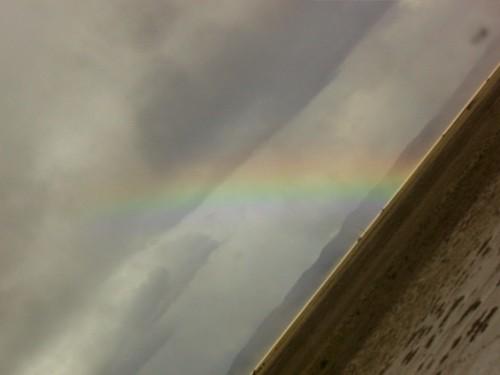 arcoiris llegando a OrurO