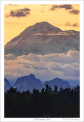 'The Great One' (Mount McKinley) (HaukeSteinberg.com) Tags: sunset usa mountain alaska north denali mckinley thegreatone impressedbeauty aplusphoto fineimage platinumheartaward alaskaviewer