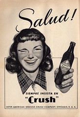 Crush (Memo Padilla) Tags: méxico vintage magazine publicidad revista ad retro mexican diseño ilustración mejico retromex