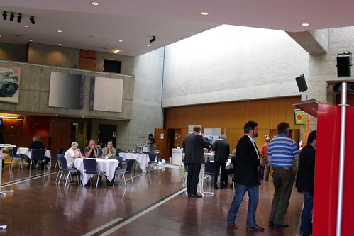 Convention foyer