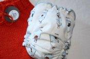 Fish in Bags - soaker & diaper set - med