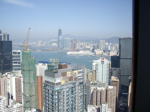 Hong Kong from Hopewell Centre